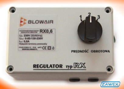 Regulator Blowair RX 0,6A